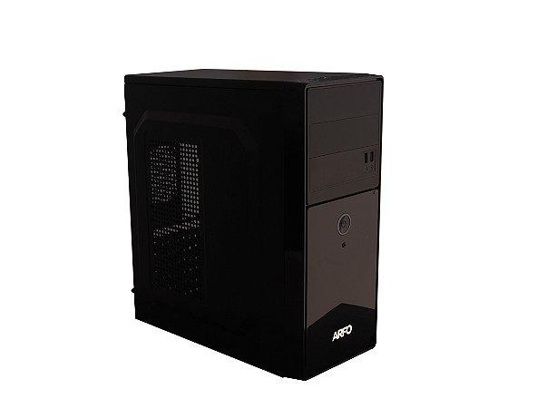COMPUTADOR GAMER ARFO INTEL I3 9100F, 9a.Geração, Mother Gamer H310, Gabinete 2 BAIAS, 4Gb DDR4, SSD 120GB, fonte de 200W, placa 710 2GB, 64BIT - Com Linux