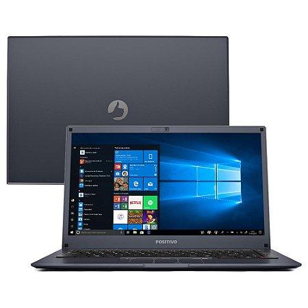 """Notebook Positivo Quad Core 4GB 64GB SSD Tela 14"""" - Com Windows 10 Home"""