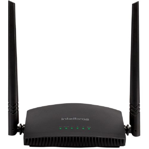 ROTEADOR WIRELESS INTELBRAS RF301K 300MPBS CUSTOM PRETO