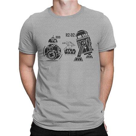 Camiseta Droides Star Wars