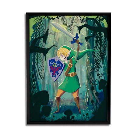 Quadro Link in the woods