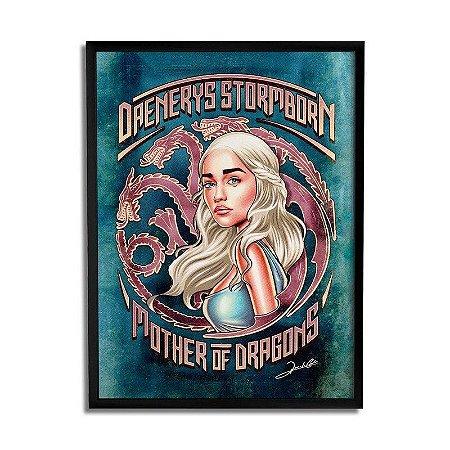 Quadro Daenerys Stormborn
