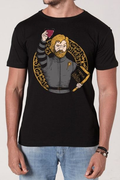Camiseta Game of Thrones - Drinks & Knowledge