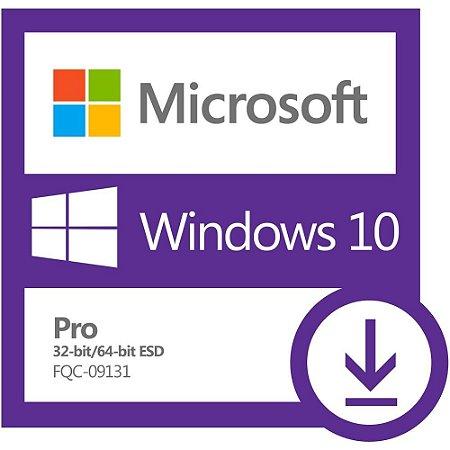 Microsoft Windows 10 Pro - Licença + Nota Fiscal