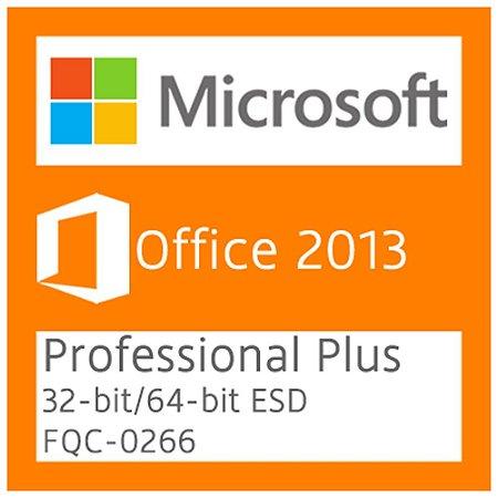 Microsoft Office 2013 Professional Plus - Licença + NF-e
