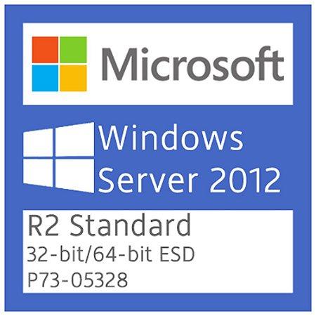 Microsoft Windows Server 2012 R2 Standard - Licença + NF-e