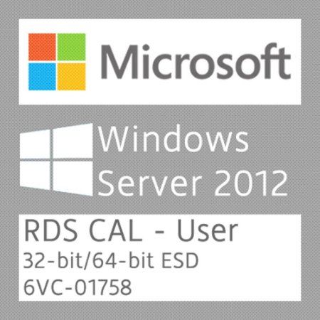 Microsoft Windows Server 2012 R2 - 50 RDS CAL - User - Licença + NF-e