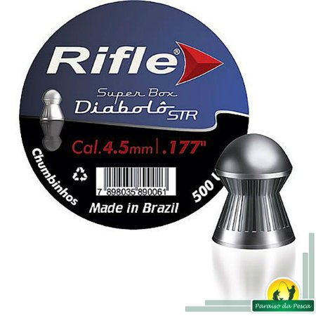 Chumbinho Rifle STR 4.5mm c/500