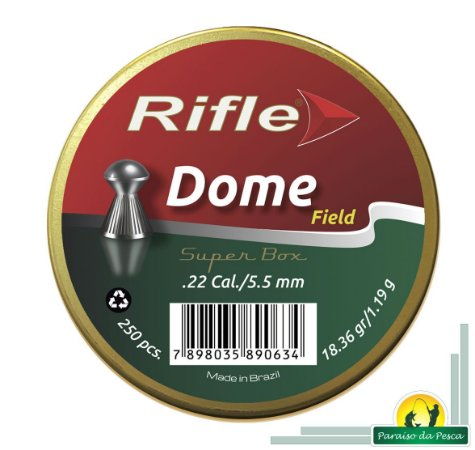 Chumbinho Rifle Field Dome 5.5mm c/250