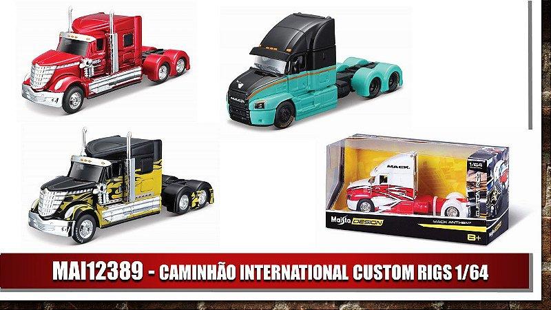 CAMINHÃO INTERNATIONAL CUSTOM RIGS 1/64