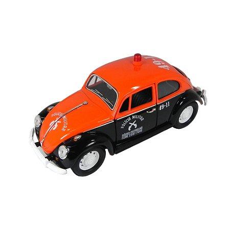 1967 VW FUSCA POLICIA MILITAR DE SP 1/24