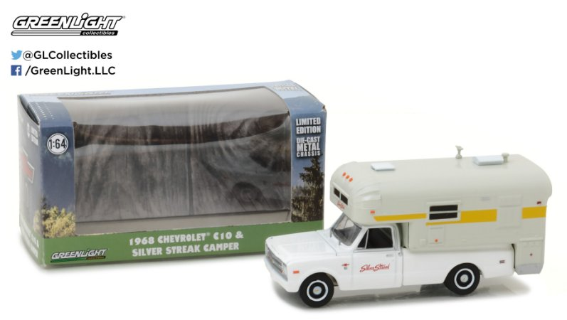 1968 CHEVY C20 CHEYENNE TRAILER 1/64
