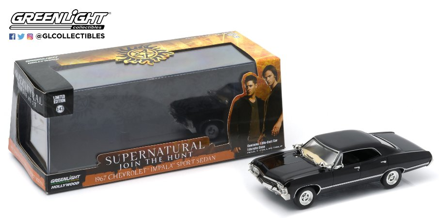 1967 CHEVY IMPALA SERIE SUPERNATURAL 1/43