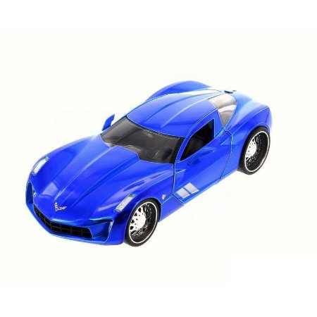 2009 CORVETTE BIG TIME 1/24