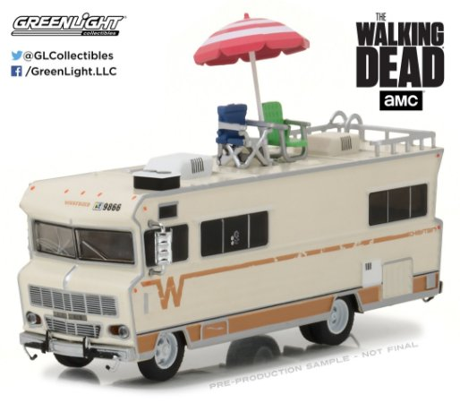 "1973 TRAILER SÉRIE ""THE WALKING DEAD"" 1/64"