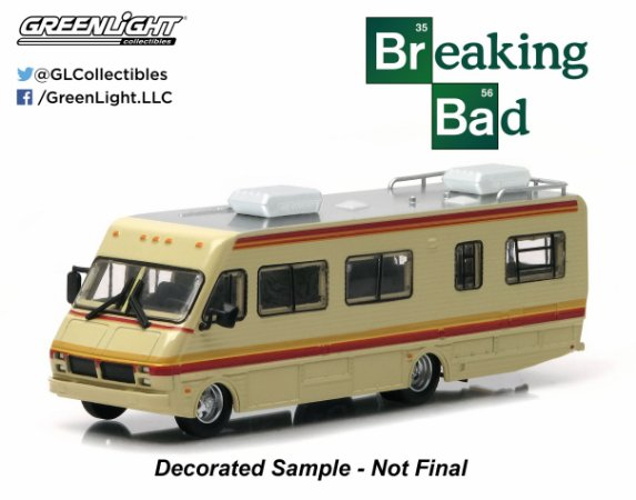 1986 TRAILER BREAKING BAD 1/64