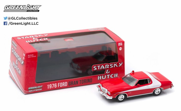 1976 GRAN TORINO STARSKY & HUTCH 1/43