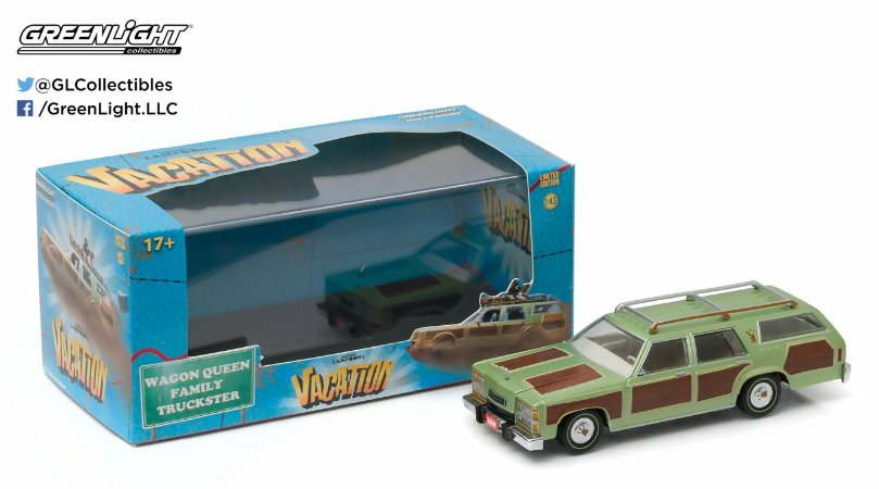 "1979 FAMILY TRUCKSTER ""VACATION/' 1/43"