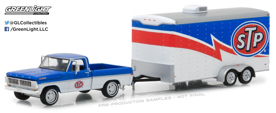 1970 FORD F-100  + TRAILER  sTp HITCH & TOW 1/64