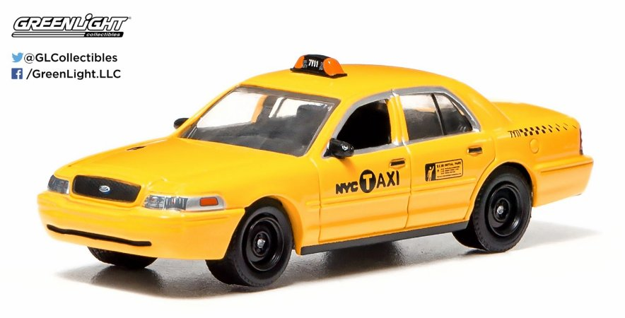 2011 FORD CROWN VICTORIA NYC TAXI 1/64