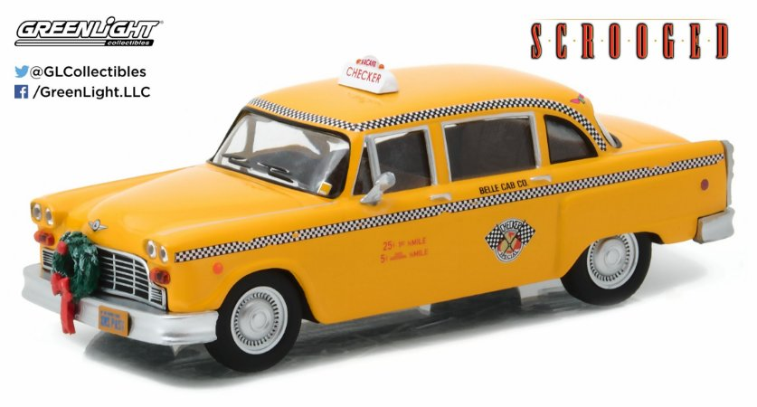 1978 CHECKER TAXI SCROOGED 1/43
