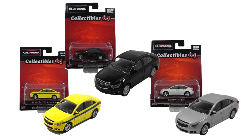 CALIFORNIA COLLECTIBLES SERIE 2 1/64