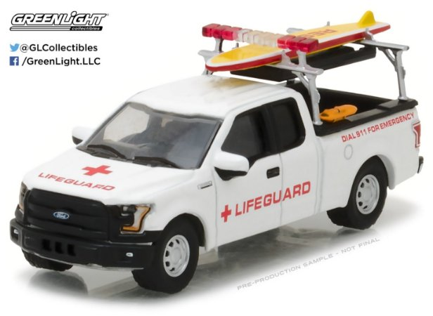2016 FORD F-150 GUARDA VIDAS 1/64