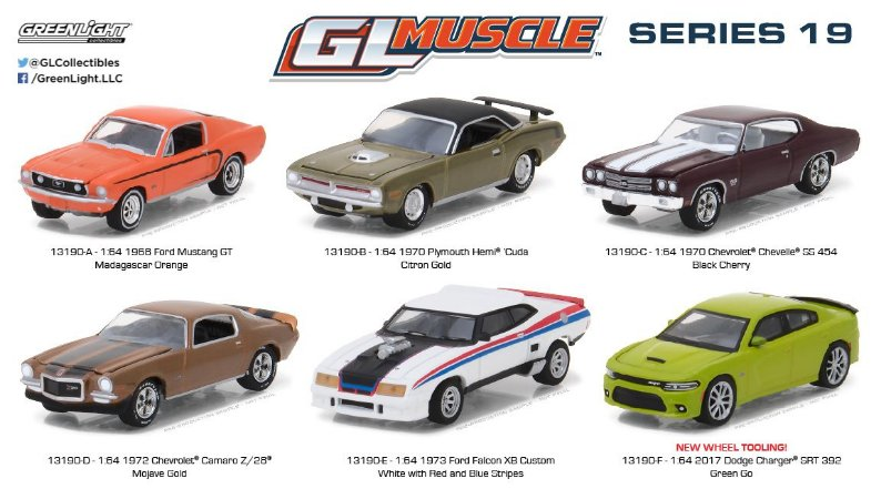 GL MUSCLE SERIES 19 1/64