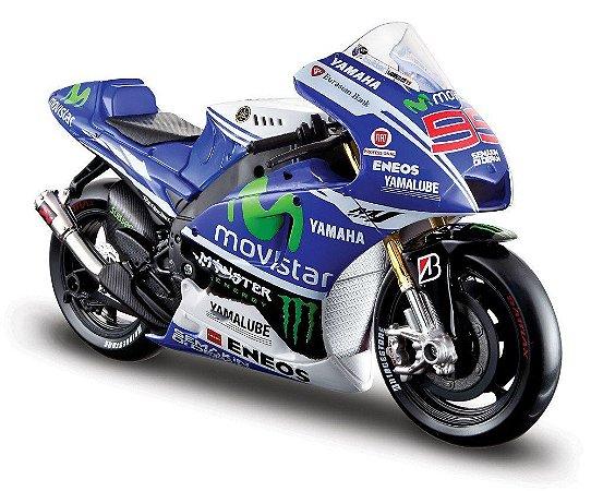 2014 YAMAHA MOVISTAR MOTO GP LORENZO 1/10