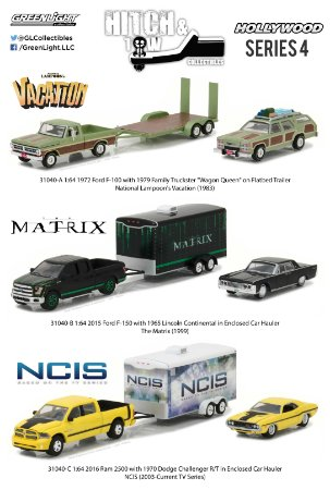 HOLLYWOOD HITCH & TOW SERIES 4 ASSORTMENT 1/64