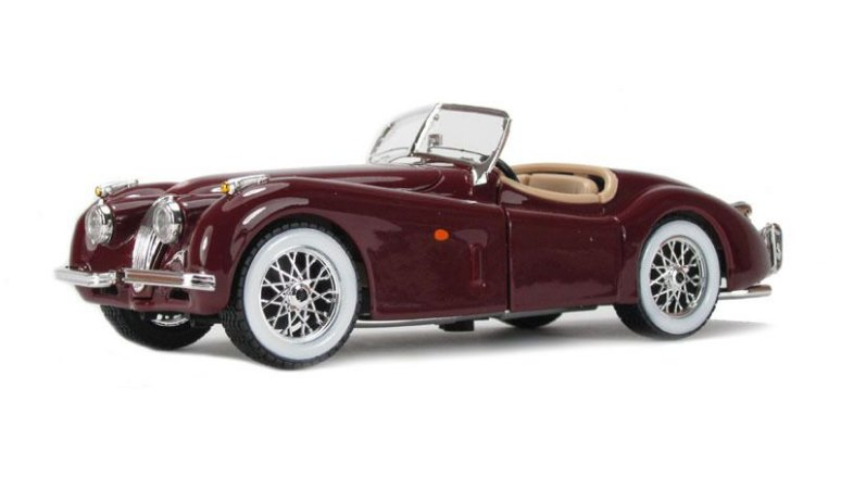 1951 JAGUAR XK 120 ROADSTER 1/24