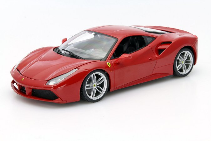 FERRARI 488 GTB RACE PLAY 1/18
