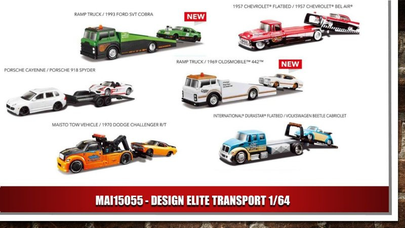 DESIGN ELITE TRANSPORT 1/64