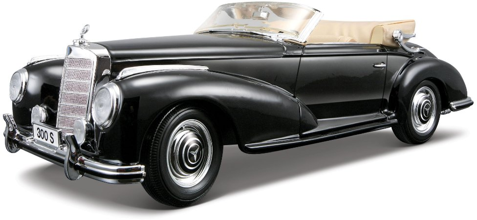 1955 MERCEDES BENZ 300S CABRIOLET 1/18