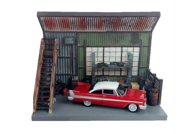 AUTO WORLD CHRISTINE SCENIC DISPLAY 1/64