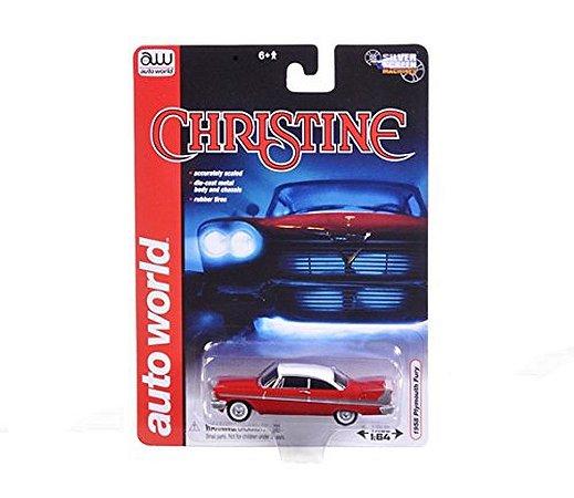 AUTO WORLD  1958 PLYMOUTH FURY CHRISTINE 1/64