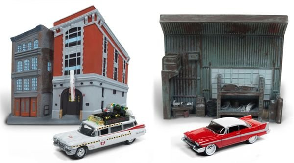 JOHNNY LIGHTNING SILVER SCREEN DIORAMA SORTIMENTO 1/64