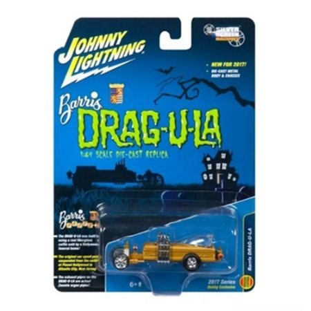 JOHNNY LIGHTNING BARRIS DRAG-U-LA 1/64