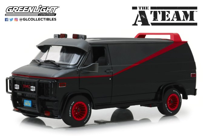 1983 GMC VAN THE A-TEAM 1/18