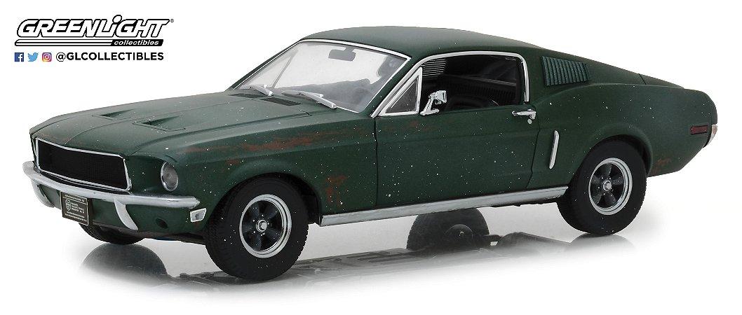 1968 FORD MUSTANG GT STEVE MACQUEEN -2018 DETROIT SHOW 1/18