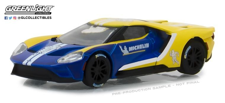 2017 FORD GT MICHELIN TIRES 1/64