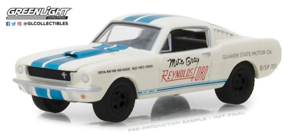 1965 SHELBY GT-350 REYNOLDS FORD 1/64
