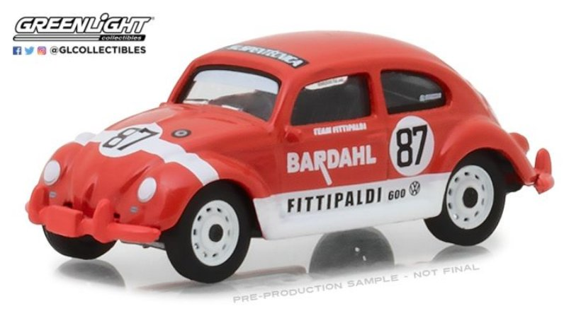 1967 VW BEETLE BARDAHL #87 TEAM FITTIPALDI 1/64