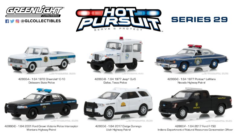 HOT PURSUIT SERIE SERIE 29 1/64