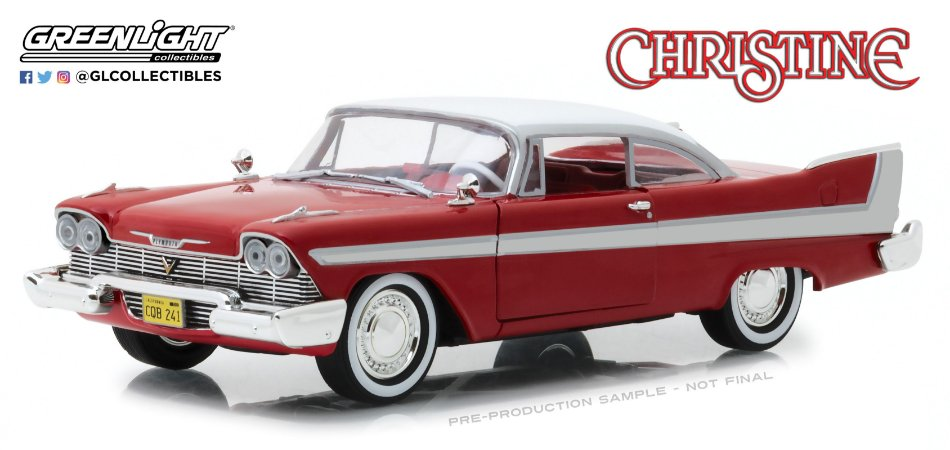 1958 PLYMOUTH FURY CHRISTINE 1/24