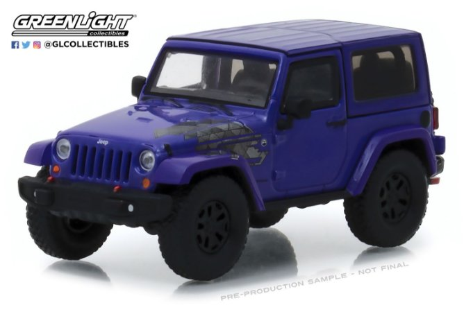 2017 JEEP WRANGLER WINTER EDITION 1/43