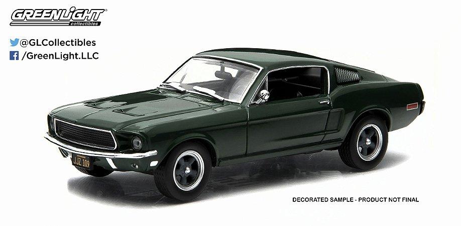 1968 FORD MUSTANG GT FASTBACK BULLIT STEVE MACQUEEN 1/43