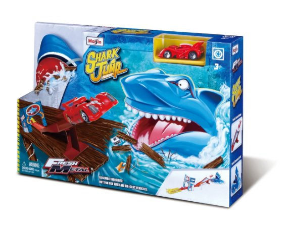 AUTO PISTA FRESH METAL SHARK JUMP