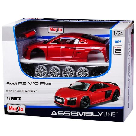 KIT EM METAL AUDI R8 V10 PLUS 1/24