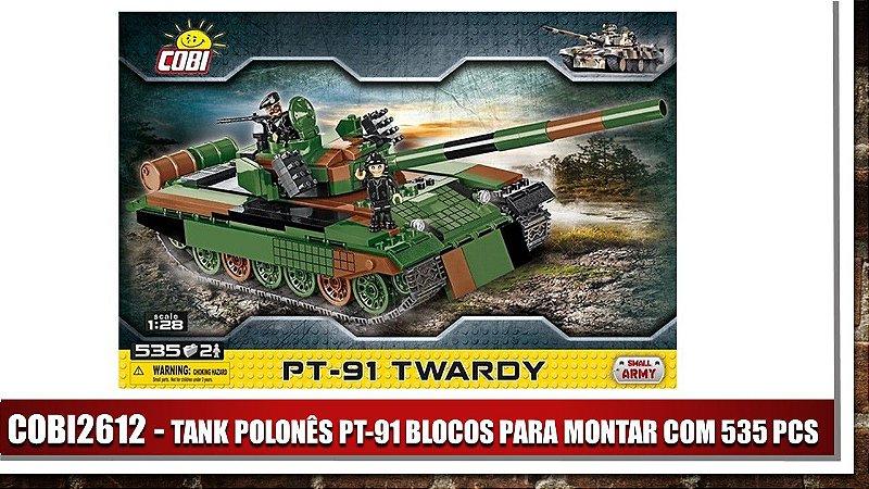 TANK POLONÊS PT-91 BLOCOS PARA MONTAR COM 535 PCS